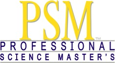 PSM - Professional Science Master's logo